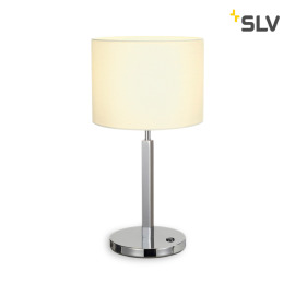 SLV Tenora lampe de table E27 blanc