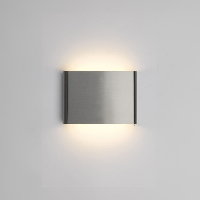 Philips myLiving wall light Galax 13cm steel brushed