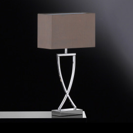 Fischer & Honsel Table Lamp Anni cappuccino