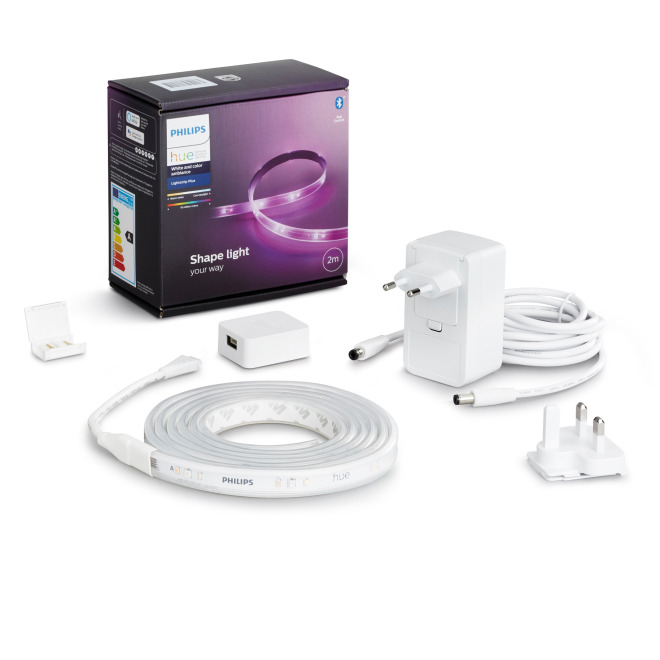 Philips Hue White and Color Ambiance Lightstrip Plus, Basis-Set 2m