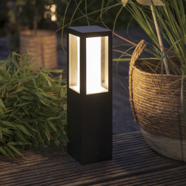 Philips Hue White and Color Ambiance Impress LED Pedestal Light, black, Extension