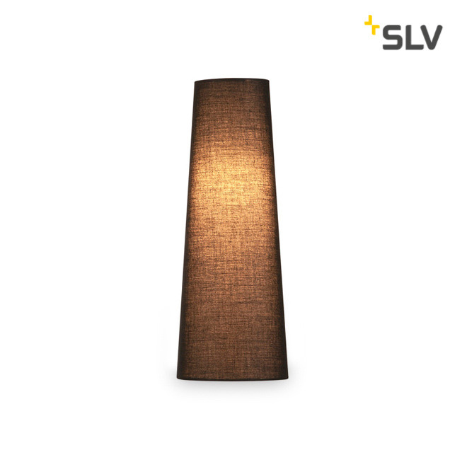 SLV FENDA MIX&MATCH Lampshade, Conical, D/H 15/40 cm, black