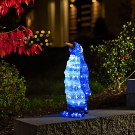 Konstsmide Small LED penguin, 96 white LEDs