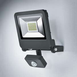 Osram LED Floodlight 30W 830 gris Sensor