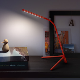 Philips myLiving lampe de table Geometry rouge