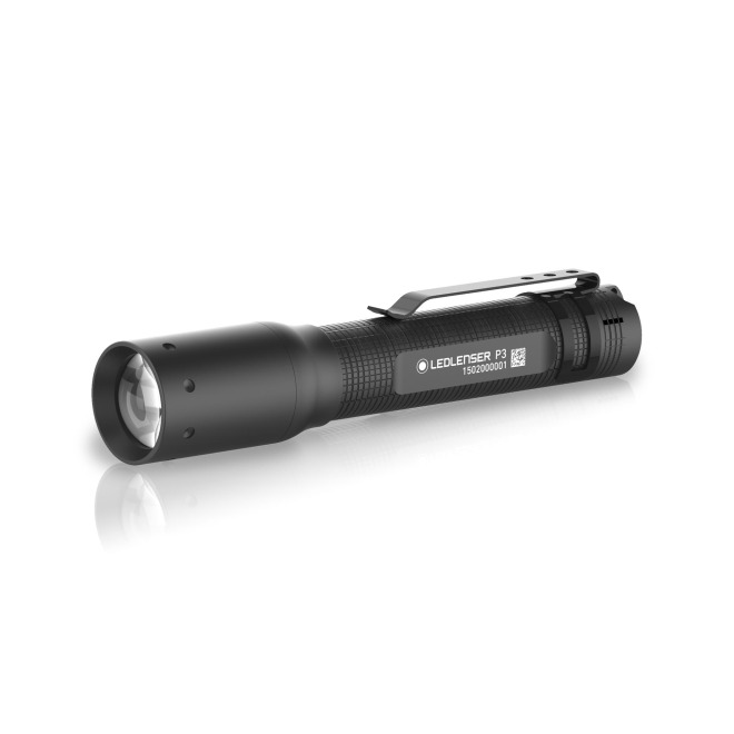 Ledlenser P3 Power LED Flashlight with Focusing black