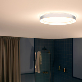 Philips Hue White Ambiance Adore LED-Deckenleuchte chrom, Dimmschalter