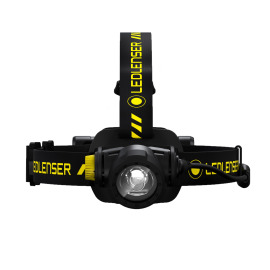 Ledlenser H7R Work LED Headlamp, Dimmable, Rechargeable, IP67