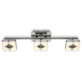 ESTO ceiling light SQUARE 3-flames