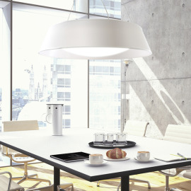 Mantra pendant light ARGENTA BIG 60cm white
