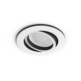 Philips Hue White & Color Ambiance Centura Recessed LED Spot round white