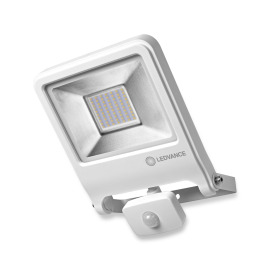 LEDVANCE LED Wall Floodlight ENDURA FLOOD Sensor 50W 830 white