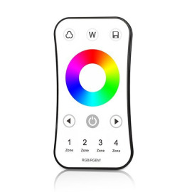Optonica LED RGB/RGBW Ultra-thin RF Remote Control with Touch Colour Wheel