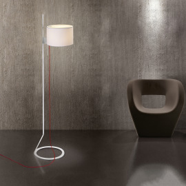 Steng LED Floor Lamp LOFT white
