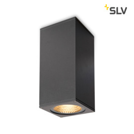 SLV Big Theo Flood Up/Down Outdoor LED-Wandleuchte anthrazit