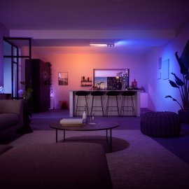 Philips Hue White & Color Ambiance Centris LED-Deckenleuchte mit 3 Spots weiß, 3650lm