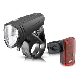 AXA Greenline 15 LED bike light set
