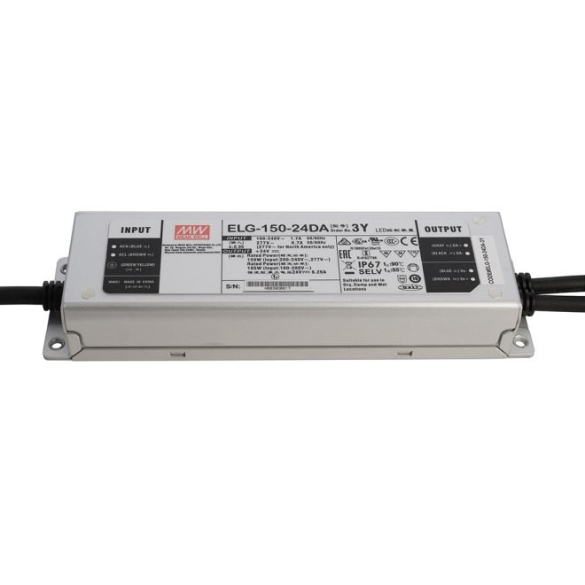 Meanwell ELG-150-24V-DA Power Supply Unit