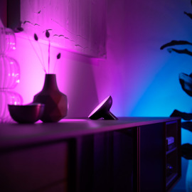 Philips Hue White & Color Ambiance Bloom LED-Tischleuchte schwarz, 500lm