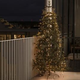 Konstsmide LED Tree Coat amber, 8 strings of 2.4m (30 LEDs each)
