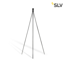 SLV Fenda Floor Lamp, Without Shade, chrome