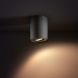 Philips hue Pillar LED 1-er Spot schwarz