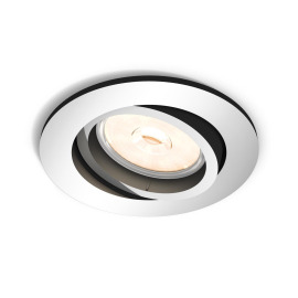 Philips myLiving LED-Downlight Donegal rund chrom