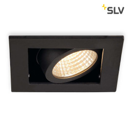 SLV KADUX LED Single Downlight Set mattschwarz