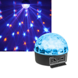 BeamZ Mini Star Ball Sound RGBWA LED 6 x 3W