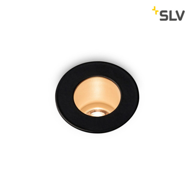 SLV Triton Mini LED Downlight black-white