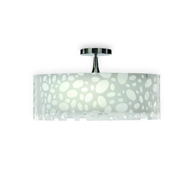 Mantra ceiling light MOON WHITE 4L BIG