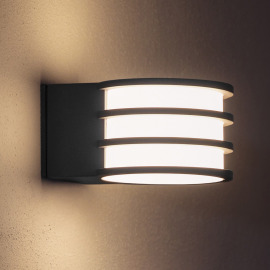 Philips Hue LED Wall Light Lucca anthracite, Hue White