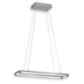 Fischer & Honsel pendant light Jim, 4-flame