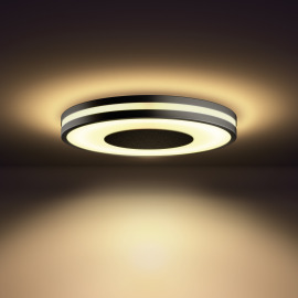 Philips Hue White Ambiance Being Ceiling Light black, Dimmer Switch