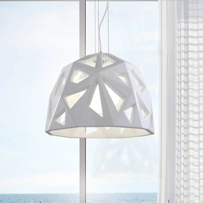 Mantra pendant light FACETE 1L white