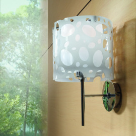 Mantra lampe murale MOON WHITE 1L