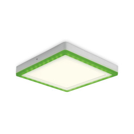 Osram LED Ceiling Light Color + White Square 30cm 30W