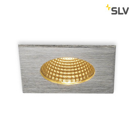 SLV PATTA-I Downlight carré aluminium