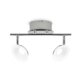 Philips Essentials LED Spot Mackinaw 2-flammig chrom