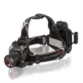 Ledlenser H14R.2 Rechargeable Headlamp with Focusing grey-black