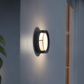 Philips myGarden LED Wall Light Actea black