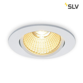 SLV NEW TRIA 68 LED DL ROUND Set Downlight blanc