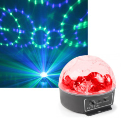 BeamZ Mini Star LED Ball Sound RGBWAP IRC 6 x 3W