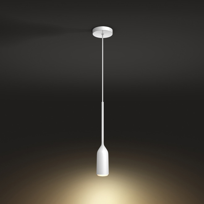 Philips Hue Devote LED Pendant Light white