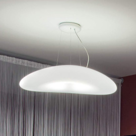 Linea LED Lampe Suspendue Mr. Magoo P 4000K 23W blanc