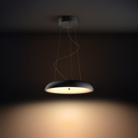 Philips Hue White Ambiance Amaze LED Pendant Light black, 3000lm