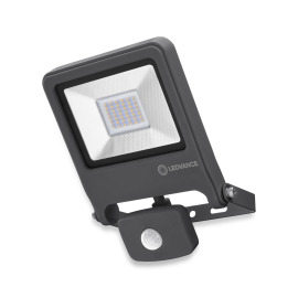 LEDVANCE LED Wall Floodlight ENDURA FLOOD Sensor 30W 830 dark grey