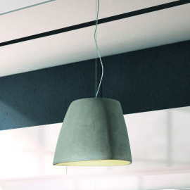 Mantra lampe suspendue TRIANGLE BIG 1L béton