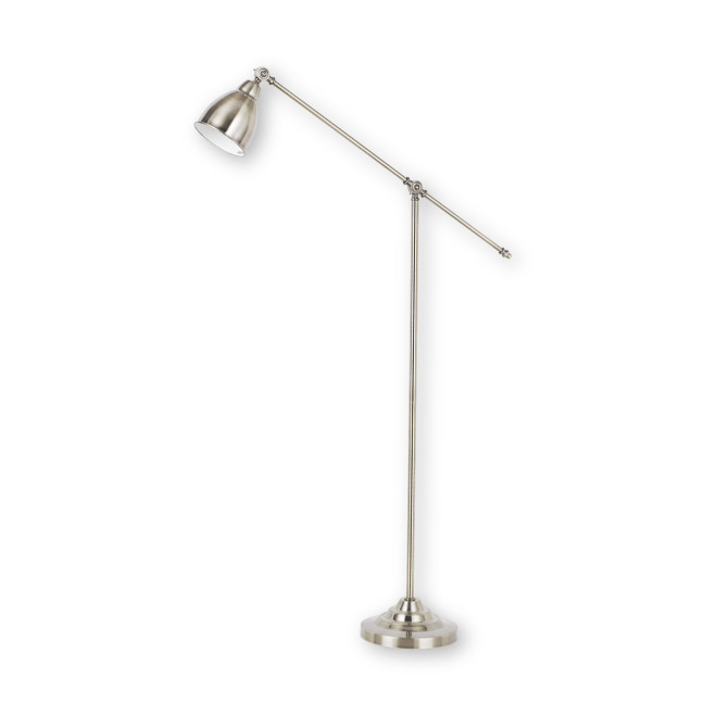 Ideal Lux NEWTON PT1 NICKEL Standleuchte