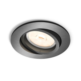 Philips myLiving LED-Downlight Donegal rund grau